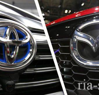 Тойота и Мазда создадут завод по выпуску электрокаров