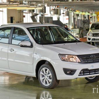 Выпуск лифтбека Лада Гранта переехало на другое производство АВТОВАЗа